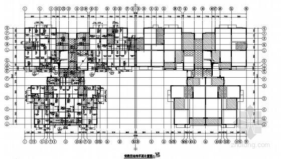 [长沙]剪力墙结构住宅楼结构施工图(16层 桩基础 带地下室)