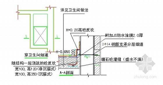 建筑工程施工质量防渗漏、防开裂重点控制措施(附防水节点图)