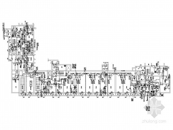 [北京]中高层住宅楼采暖系统设计施工图(含人防设计)