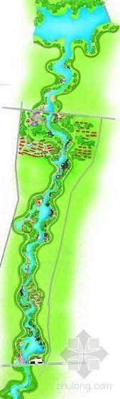 某旅游区河道沿岸景观设计方案