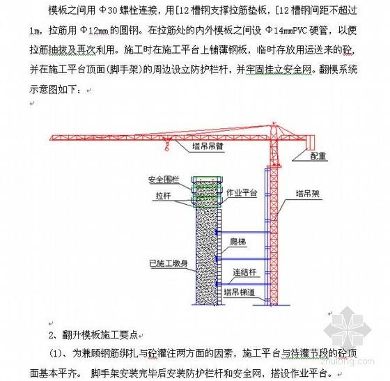 高速公路桥梁墩柱、盖梁施工方案(柱式方墩、矩形墩)
