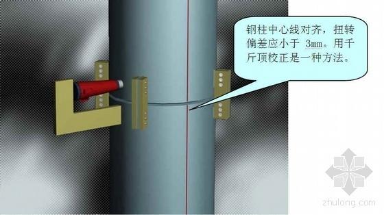 某大型火车站地下结构钢柱吊装施工方案(圆管柱 Y型钢柱)