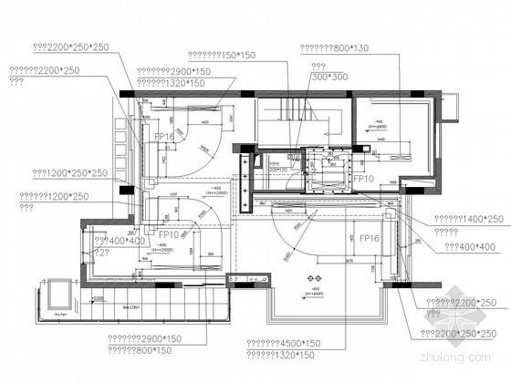 别墅空调及通风系统设计施工图(风冷热泵)