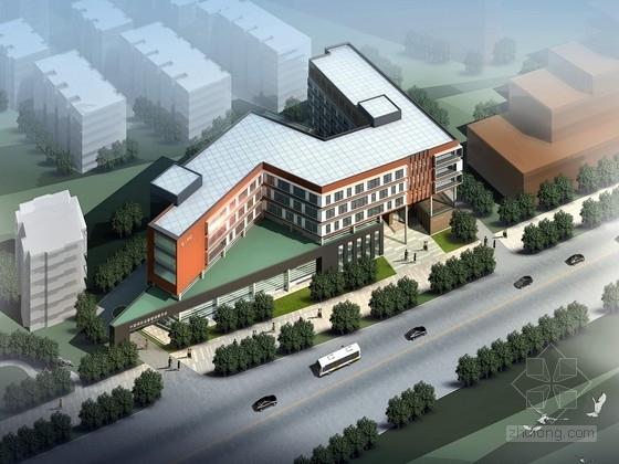 [江苏]6层办公楼建筑设计方案文本