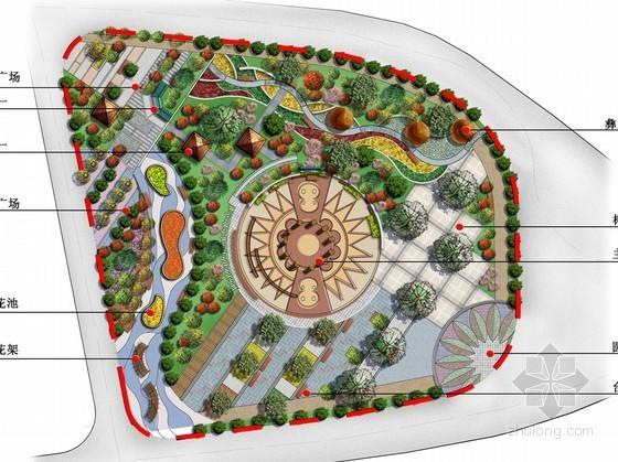 [云南]民族文化广场设计效果图