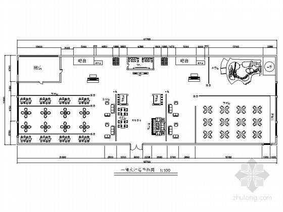 [毕业设计]中式风情度假酒店设计装修施工图