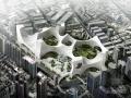 [广东]大型商业区规划及单体设计方案文本