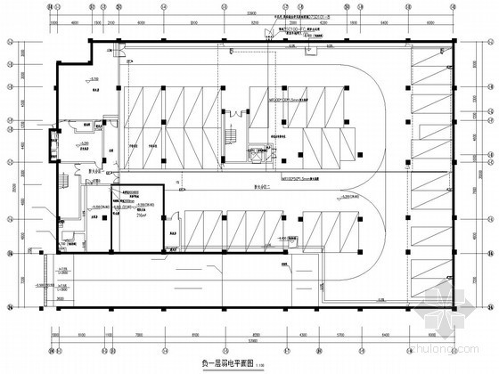 [湖南]小学强弱电施工图104张(2014年底设计)