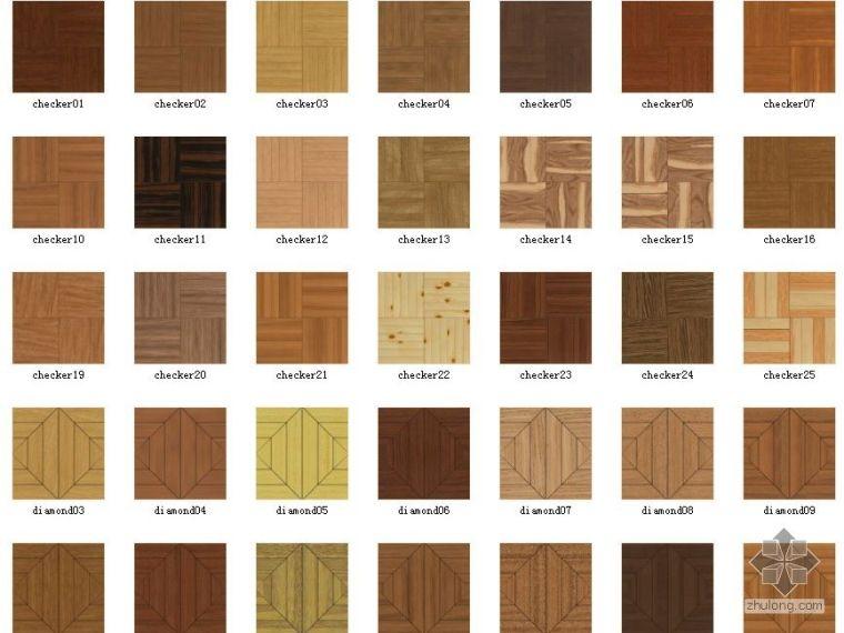 木板地面材质
