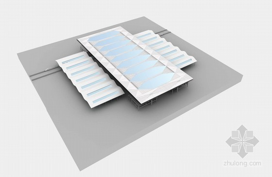 [四川]大跨度空间钢桁架结构站房工程施工组织设计(800页三维效果图)