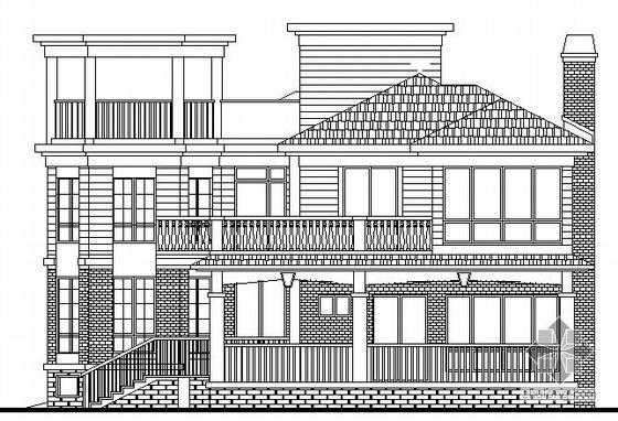某二层独立别墅建筑施工图