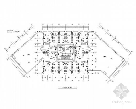 二类高层综合楼全套电气图共35张