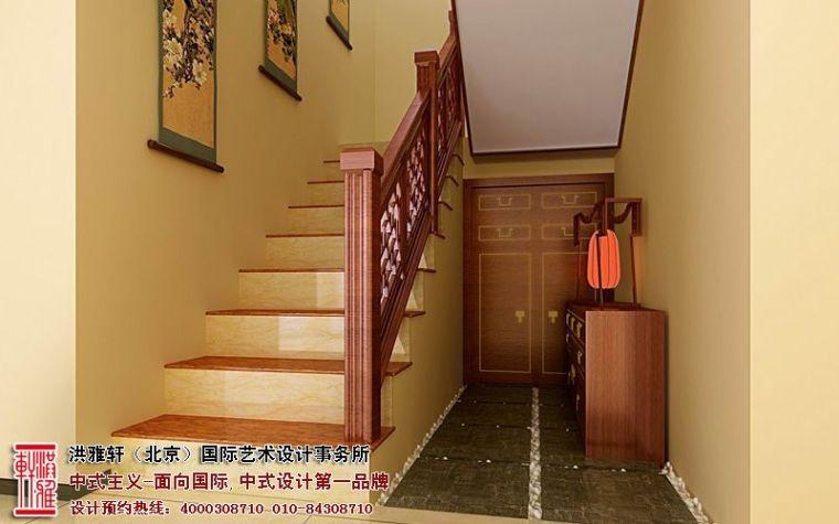 古典中式别墅装修效果图,奢华富丽优雅大气_4