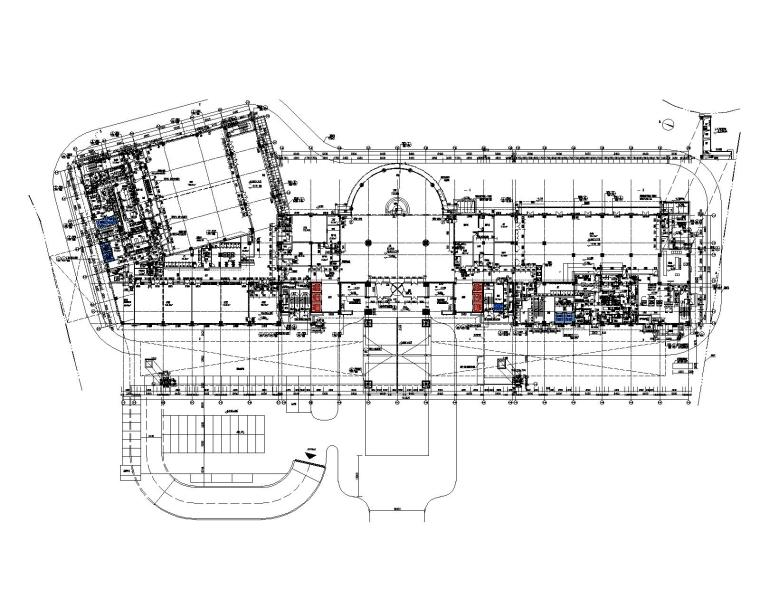 [江苏]知名地产诺富特酒店施工图+软装方案