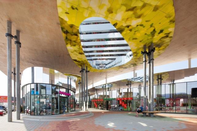 万漪景观分享--Nord Graz 购物中心-自2015年开业以来,Nord第9张图片