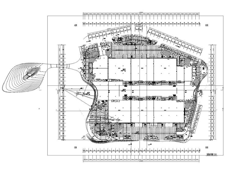 [泉州]大型会展中心3栋建筑给排水雨水高压细水雾消防系统施工图