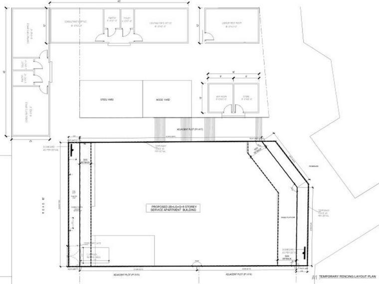 迪拜住宅公寓楼项目技术标(50页)