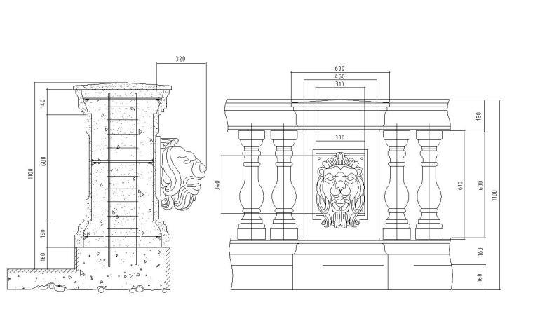 11套欧式栏杆详图设计——建筑详图