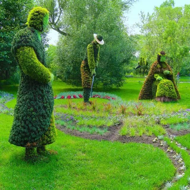 80个极美植物雕塑_7
