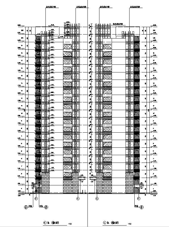 [河南]26层塔式住宅建筑施工图(16年全专业图纸)_5