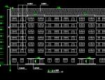 地上七层商住楼设计建筑图