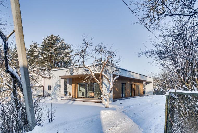 立陶宛极简主义Smelynes别墅