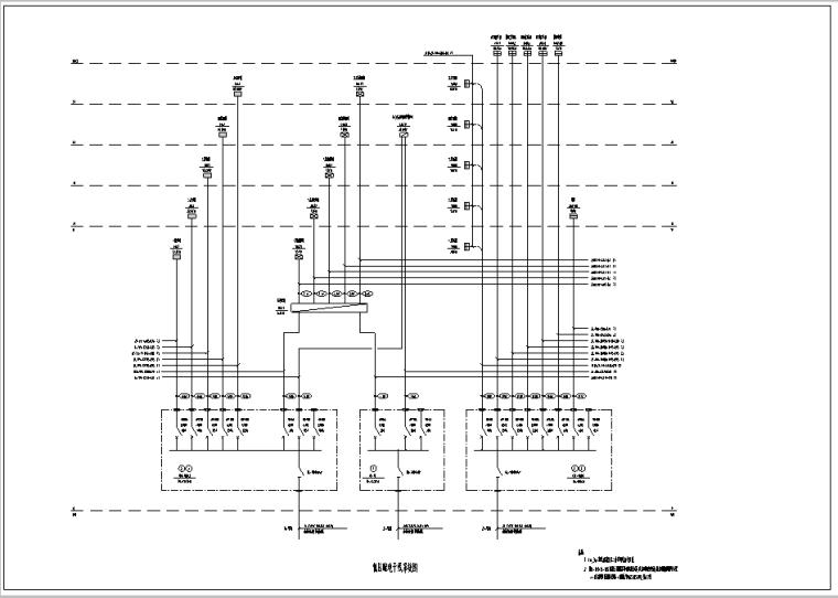 某学校图书科技楼电气设计图纸