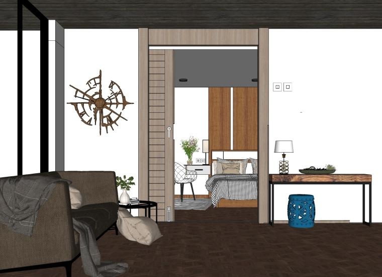 [1元下载]北欧风格室内场景模型【第三弹】_1