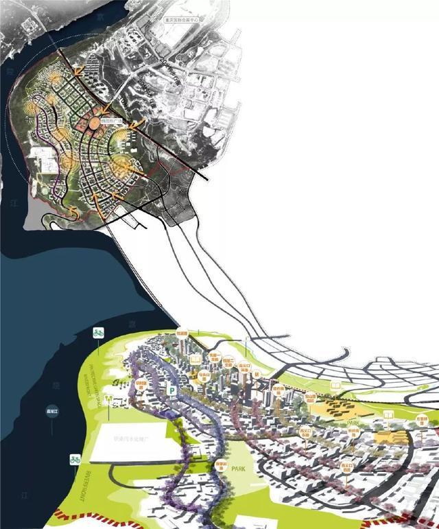 当山遇到海绵~山地海绵城市设计——重庆悦来生态城