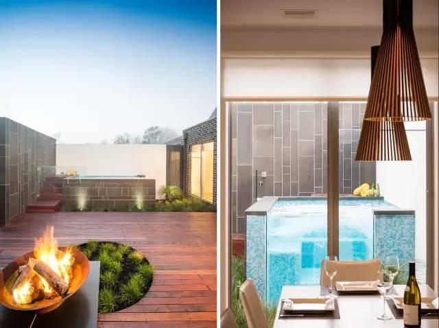 赶紧收藏!21个最美现代风格庭院设计案例_5