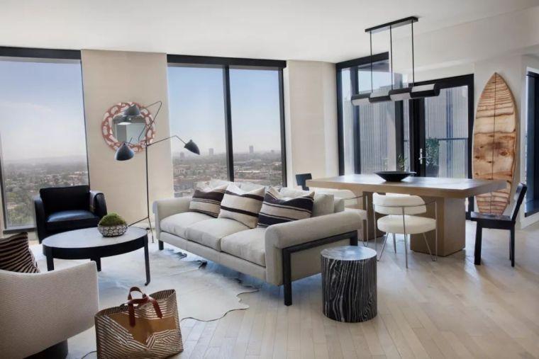 好莱坞的酒店公寓,奢华的画风都变了……_28