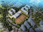 [福建]五层48班新中式风格县级小学建筑设计方案文本