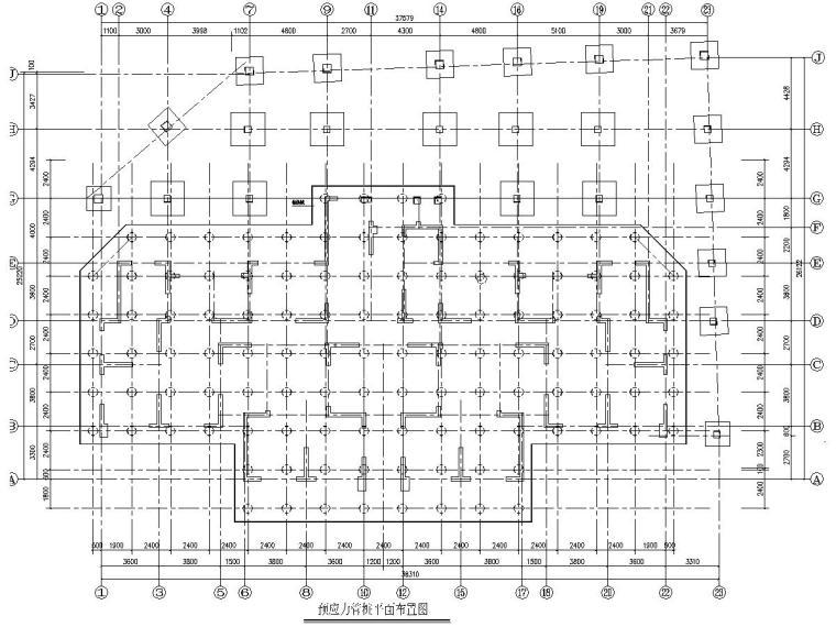 32层安置工程高层住宅楼结构施工图