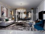 蓝调畅想 | 400平法式风格别墅设计案例