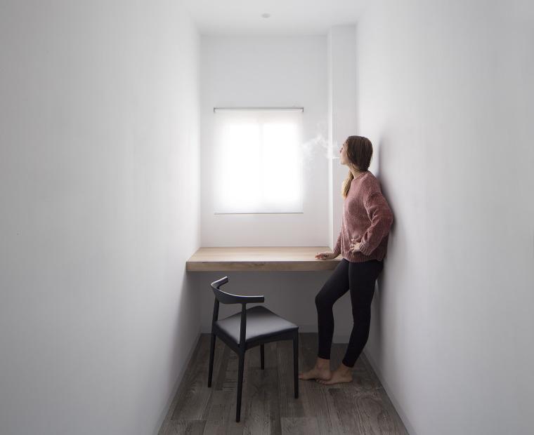 西班牙视觉艺术家的LEApartment公寓改造-8