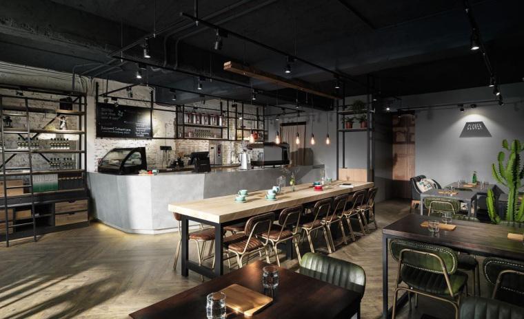 台湾工业风格咖啡馆-6