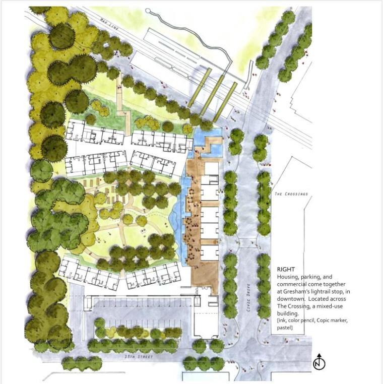 景观建筑学学士方案设计作品集PDF(42页)