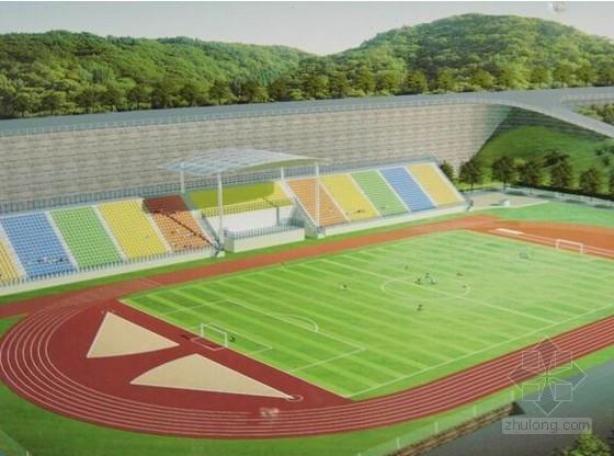[湖南]中学运动场改造及地下车库扩建工程量清单(含配套图纸)