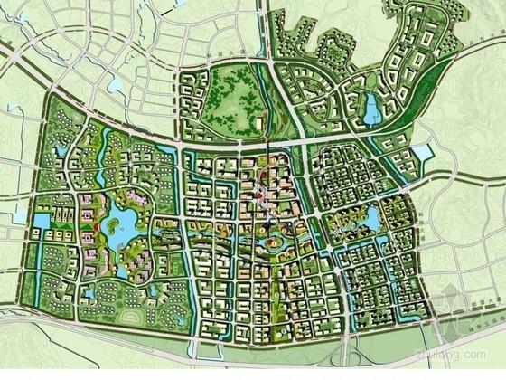 [南京]魅力生态城市景观规划设计方案