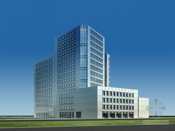 [上海]现代风格科研办公楼建筑设计方案文本
