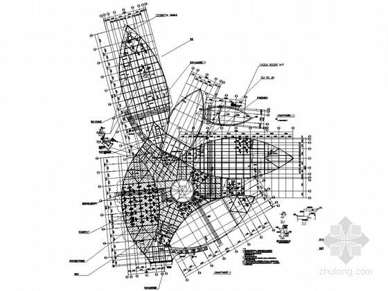 [湖南]地上二层框架结构博物馆结构施工图