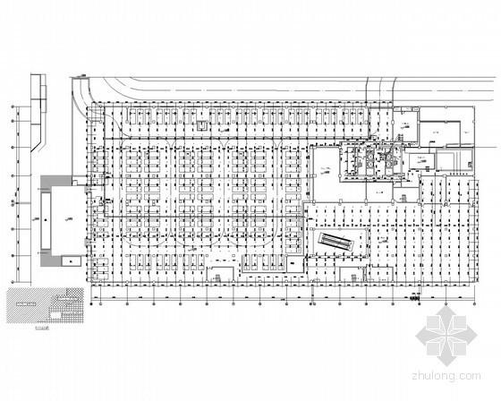 商业综合大楼给排水施工图(电影院、办公、餐厅、商场)