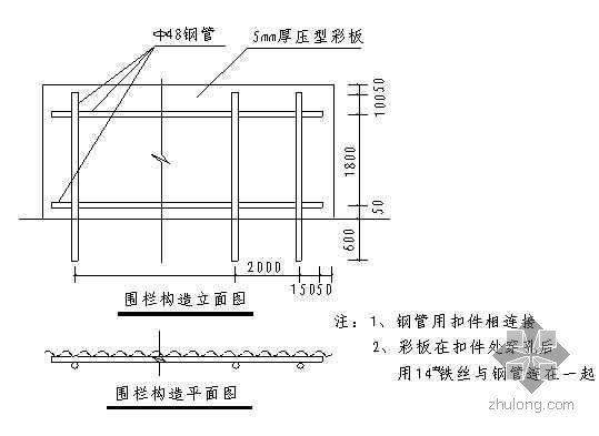 广东省某住宅工地现场临时设施布置方案