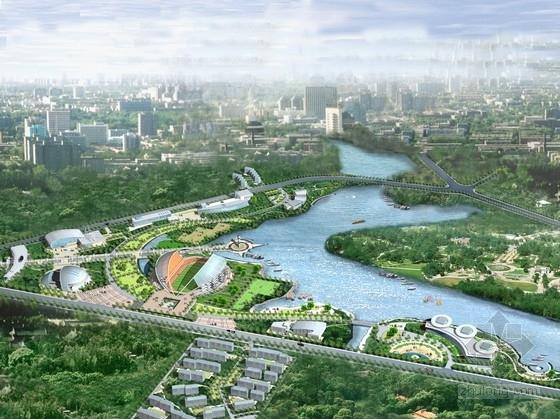 [江苏]运动休闲型风景区景观规划设计方案