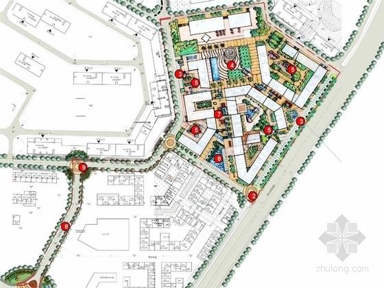 [广东]欧洲小镇风格高档居住区景观规划设计方案