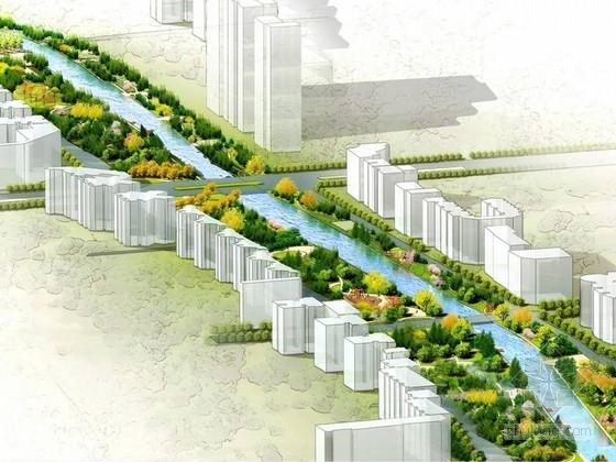 [河北]环城水系西北段三条河流沿岸景观规划设计方案