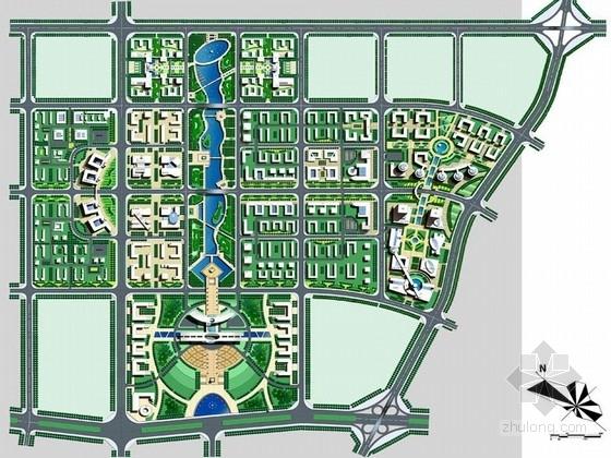 [广西]生态城市绿肺景观规划设计方案