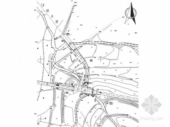 [重庆]退水渠闸工程施工图(节制闸 退水闸)