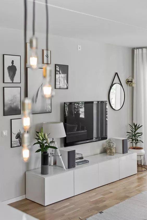 2018年电视背景墙流行这样设计~_31
