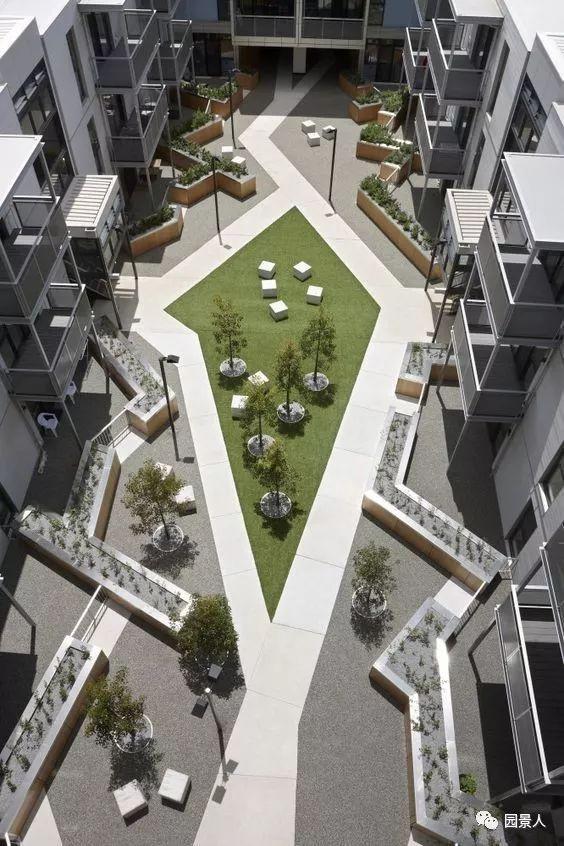 景观中庭,建筑群的心脏!_12